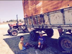 6.Sicakta Traktorun Golgesinde